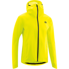 Gonso Save Plus Chaqueta Lluvia Hombre, safety yellow